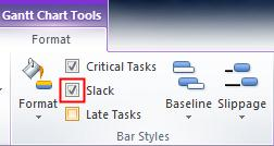Status Reports, continued 4 5 Another way to see status for tasks is with status indicators. In the Gantt Chart view right click a column heading and select Insert Column.