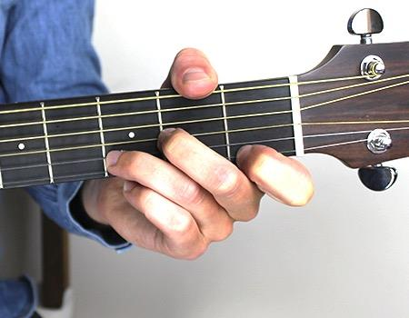 Open Minor Chords Minor chords can be easier than the major chords we ve learned. However, they sound very much sad and are therefore less common than happy major chords.