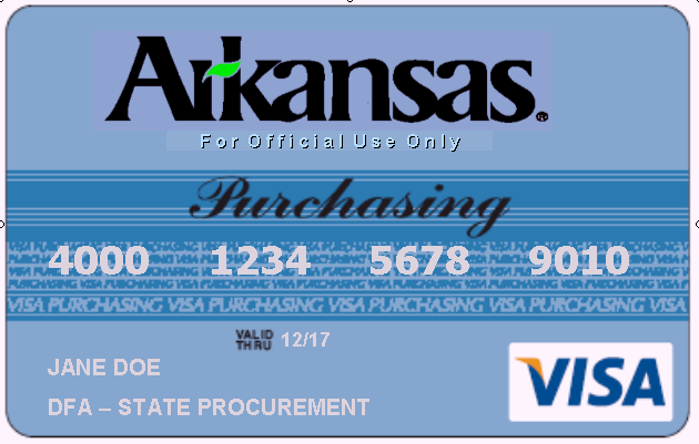 State of Arkansas Purchasing Card (P-Card) Program Policies and Guidelines Manual March 2012 Policies and guidelines will be changed to meet the needs of the