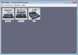 Overview of Studio Manager Getting Started Studio Manager is a cross-platform application that enables you use multiple Editor programs for remotely controlling Yamaha hardware from your computer,