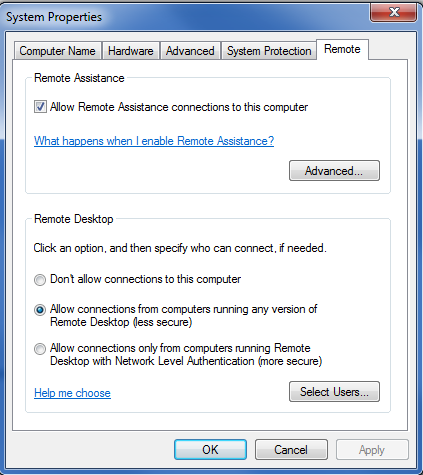 REMOTE DESKTOP Now that your vpn connection have been established, you must perform a remote desktop into your office computer, electronic data or application services.