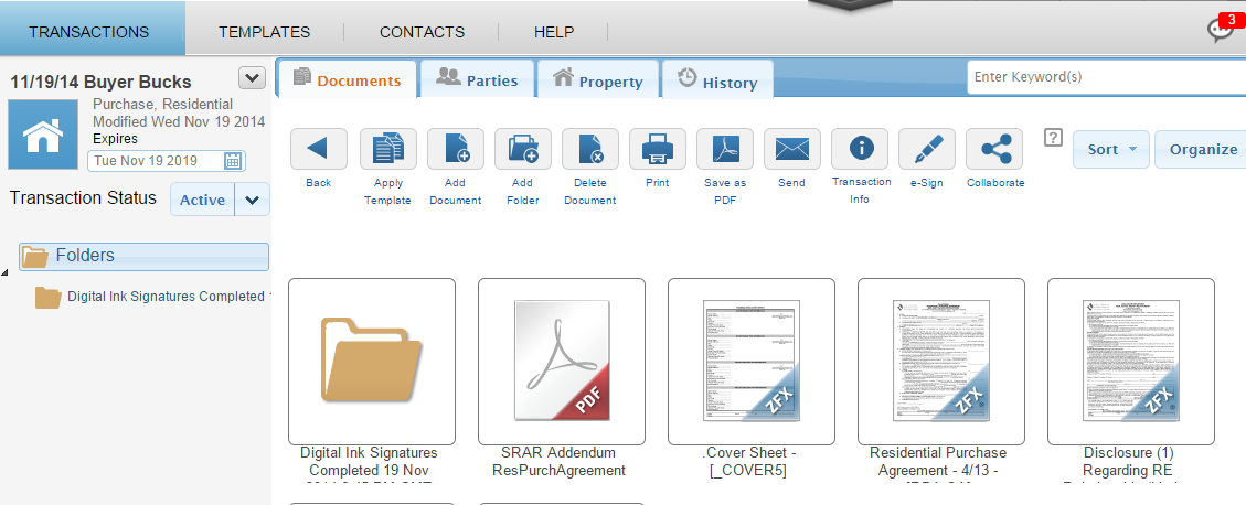Staying Organized using zipvault zipvault makes it easy to store documents and files securely online with zipform Plus.