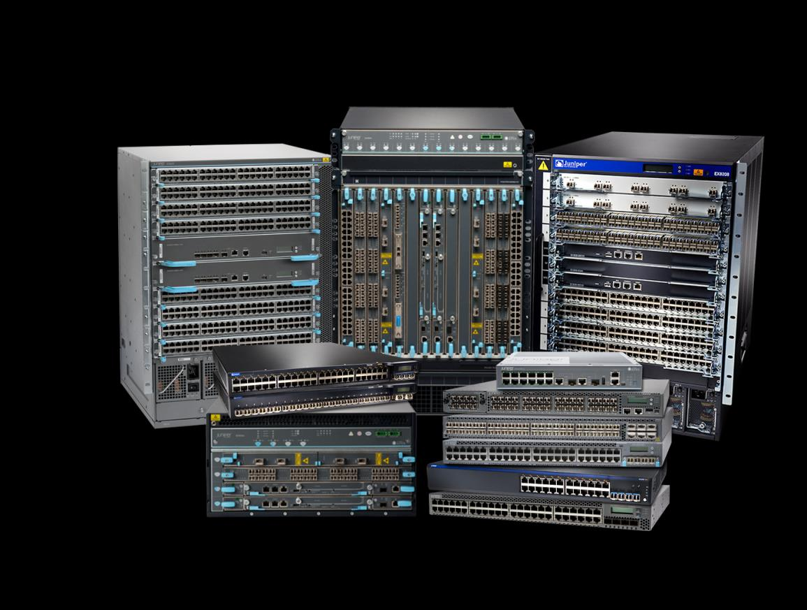JUNIPER SWITCHING IN THE DATA CENTER Deployed Extensively Over