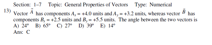 Exam 1 Review Questions PHY 2425
