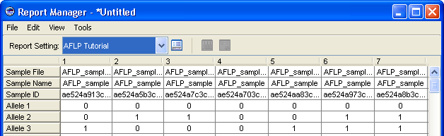 Chapter 4 Exporting and Printing the Analyzed Data Exporting Data for Use in a Spreadsheet Generating the Report 1.