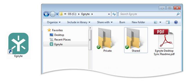 In settings you can configure how often to sync, modify which folders to sync, and check your sync status.