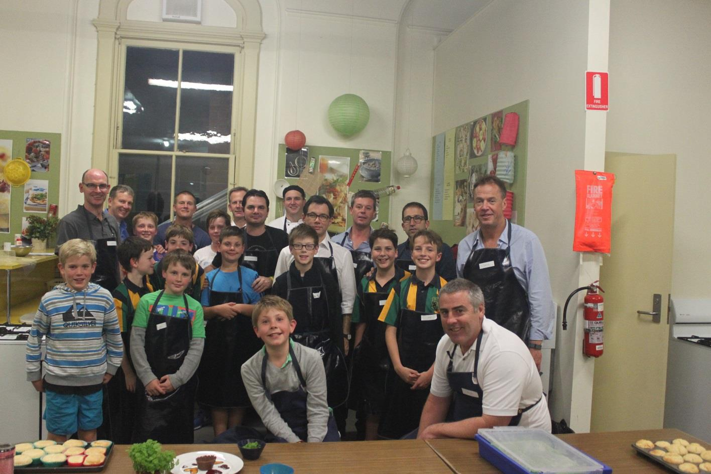 ST KEVIN S COOKING CLASSES 2015