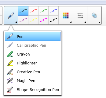 Writing and Drawing with SMART Ink SMART Ink enables you to write or draw digital ink over open application files, folders, websites and any other open window on your computer.