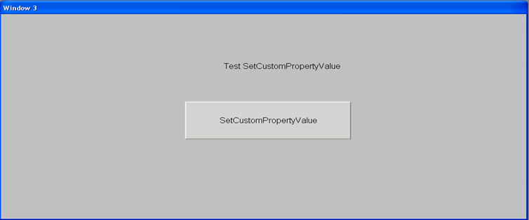 FIGURE 1: EMBEDDED SETCUSTOMPROPERTYVALUE SYMBOL IN INTOUCH 9.