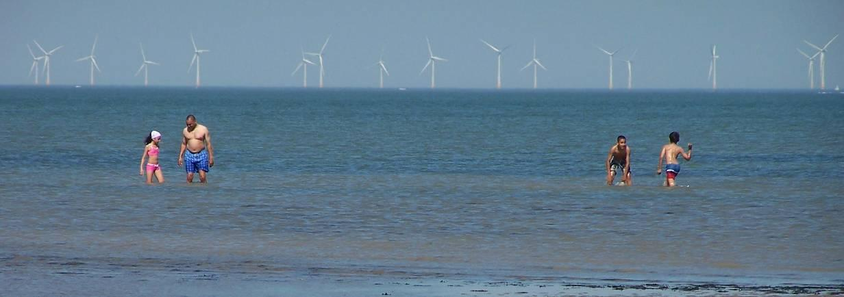 Thanet the newest largest offshore wind farm Great Britain Round 2