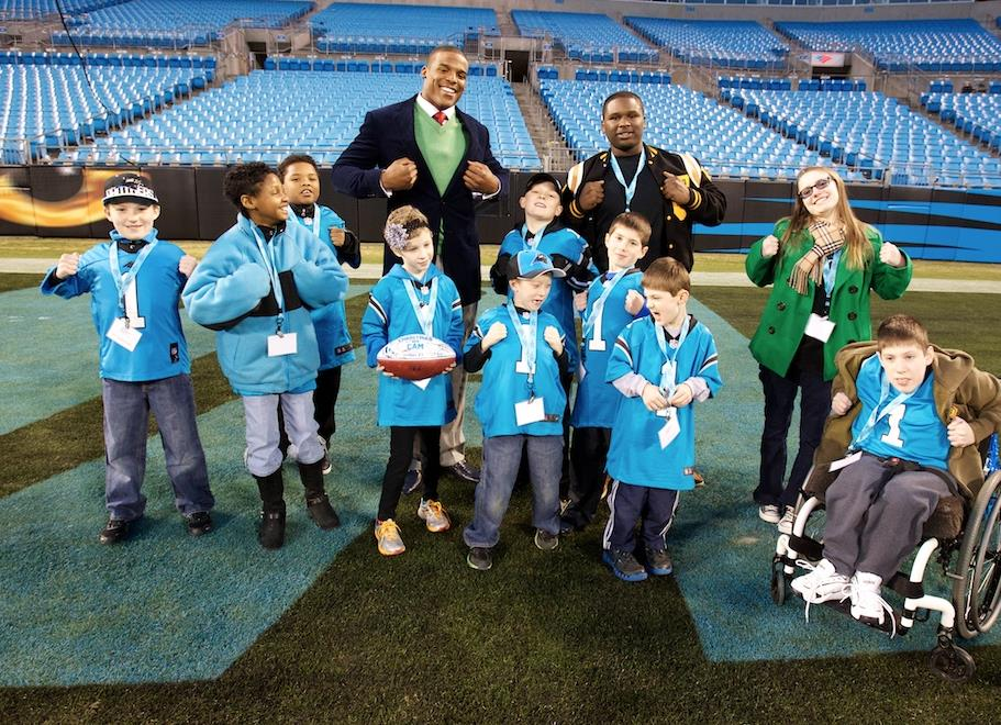 ABOUT THE CAM NEWTON FOUNDATION The Cam Newton Foundation is committed to enhancing the lives of youth by addressing their social, physical, educational and emotional needs.