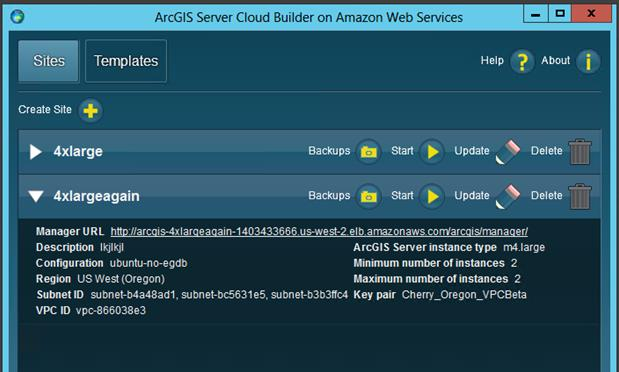 ArcGIS for Server Cloud Builder Lightweight