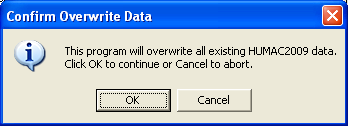 3.3.1. Place the HUMAC CD-ROM in your computer and remove any floppy disks. The setup program should begin running. If the program does not start. 3.3.1.1. From the Windows Desktop, select Start, Settings, Control Panel.
