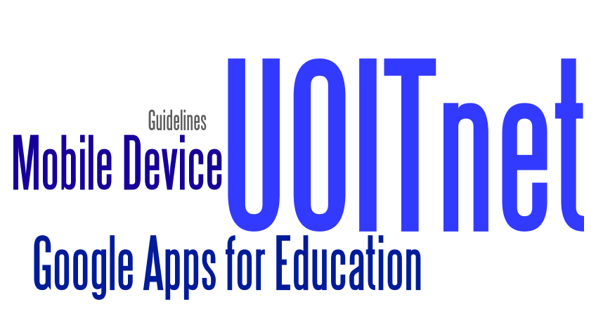 Guidelines to setup mobile devices to a UOITnet account