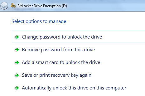 The next time you right-click on this drive in My Computer or Windows Explorer