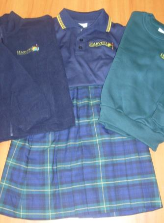 FOUNDATION TO YEAR 6 GIRLS: HCS Primary School dress (Dress length to be on kneecap) HCS green hat HCS dark green anklet socks (not compulsory with sandals) HCS windcheater/hcs polar fleece jacket