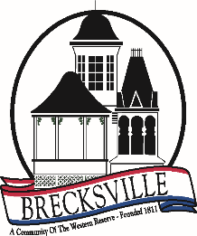 CITY OF BRECKSVILLE CONTRACTOR REGISTRATION 9069 BRECKSVILLE ROAD BRECKSVILLE, OHIO 44141 440-526-2630 PLEASE READ THE FOLLOWING CAREFULLY: Provide an original, SIGNED, $25,000 Surety Bond which must