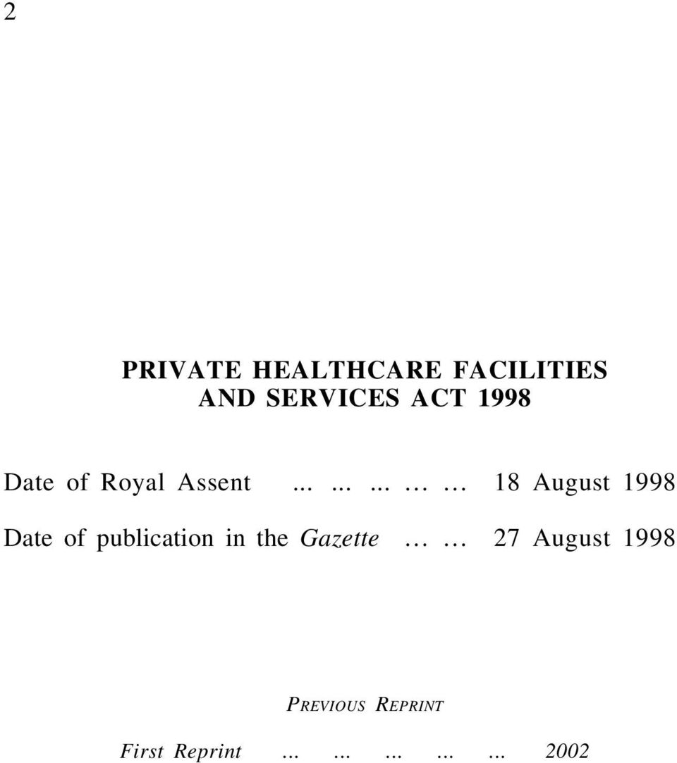 ........ 18 August 1998 Date of publication in