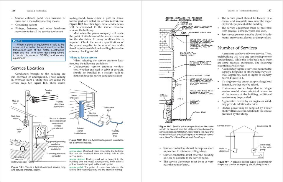 the service entrance  technical terms drip loop insulator