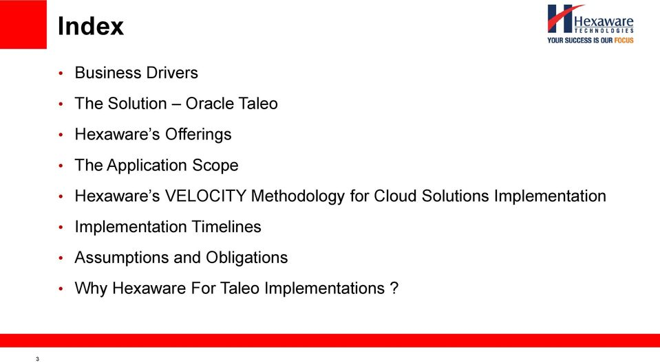 for Cloud Solutions Implementation Implementation Timelines