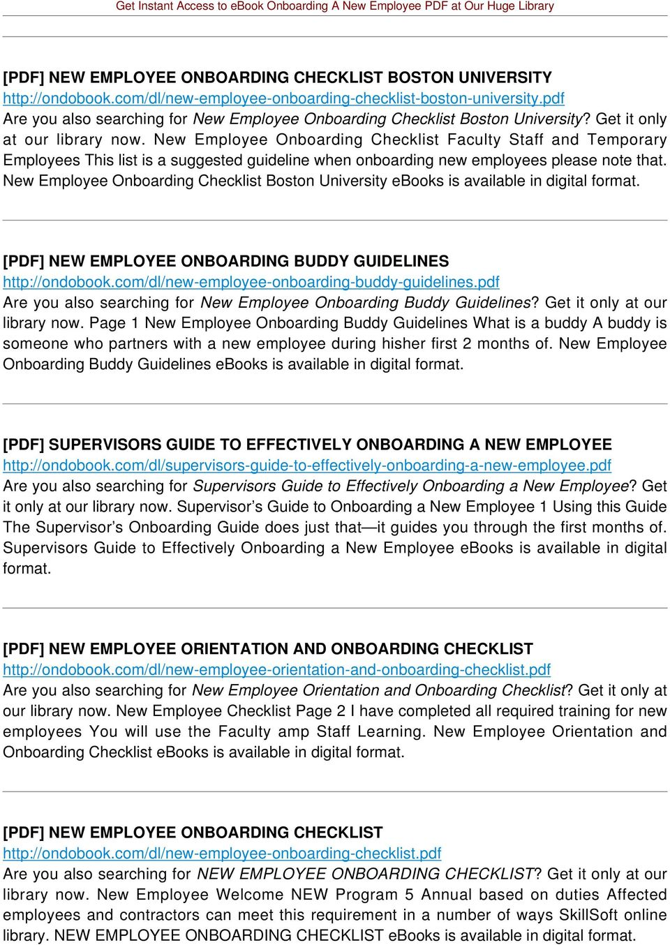 New Employee Onboarding Checklist Faculty Staff and Temporary Employees This list is a suggested guideline when onboarding new employees please note that.