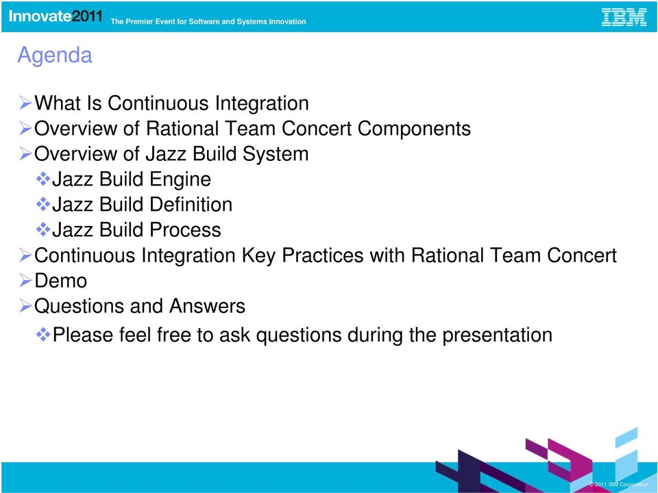 Definition Jazz Build Process Continuous Integration Key Practices with
