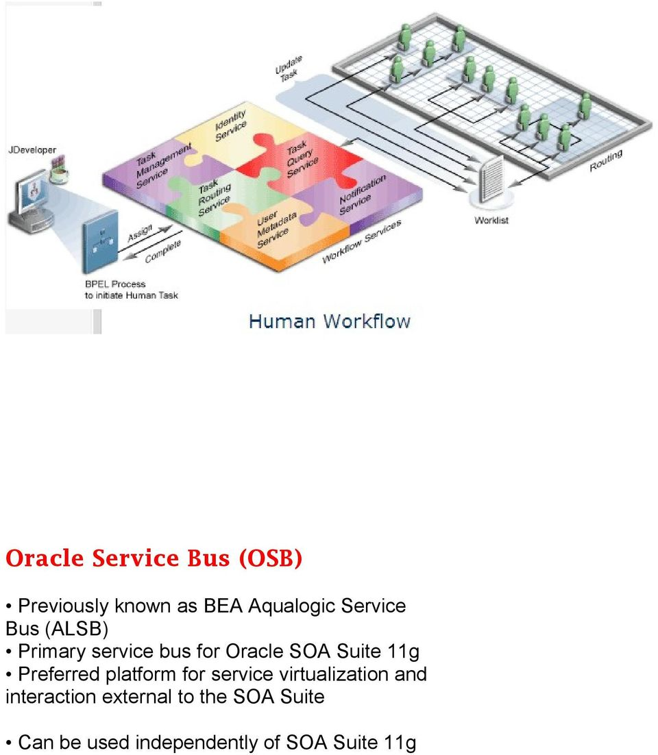 Preferred platform for service virtualization and interaction
