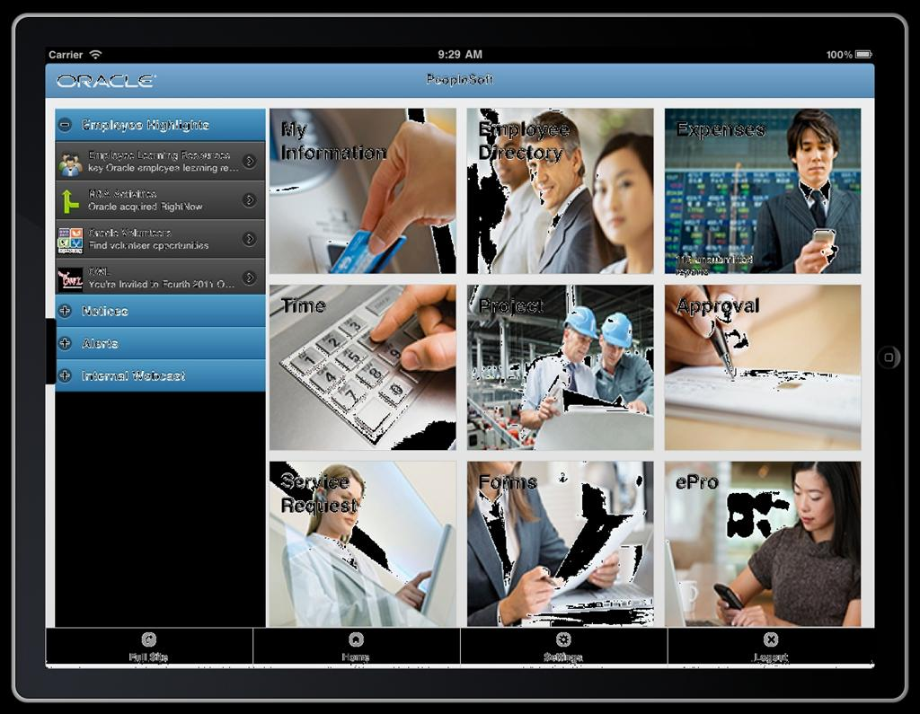 An Intuitive, Simplified User Experience on Any Device PeopleSoft