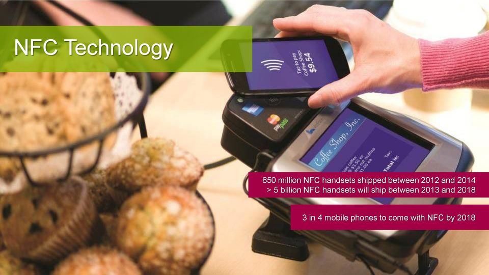 NFC handsets will ship between 2013 and