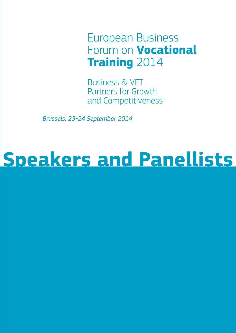 for Growth and Competitiveness Brussels,