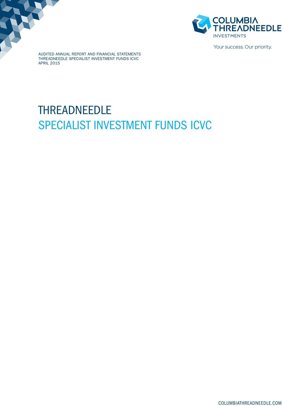INVESTMENT FUNDS ICVC APRIL 2015