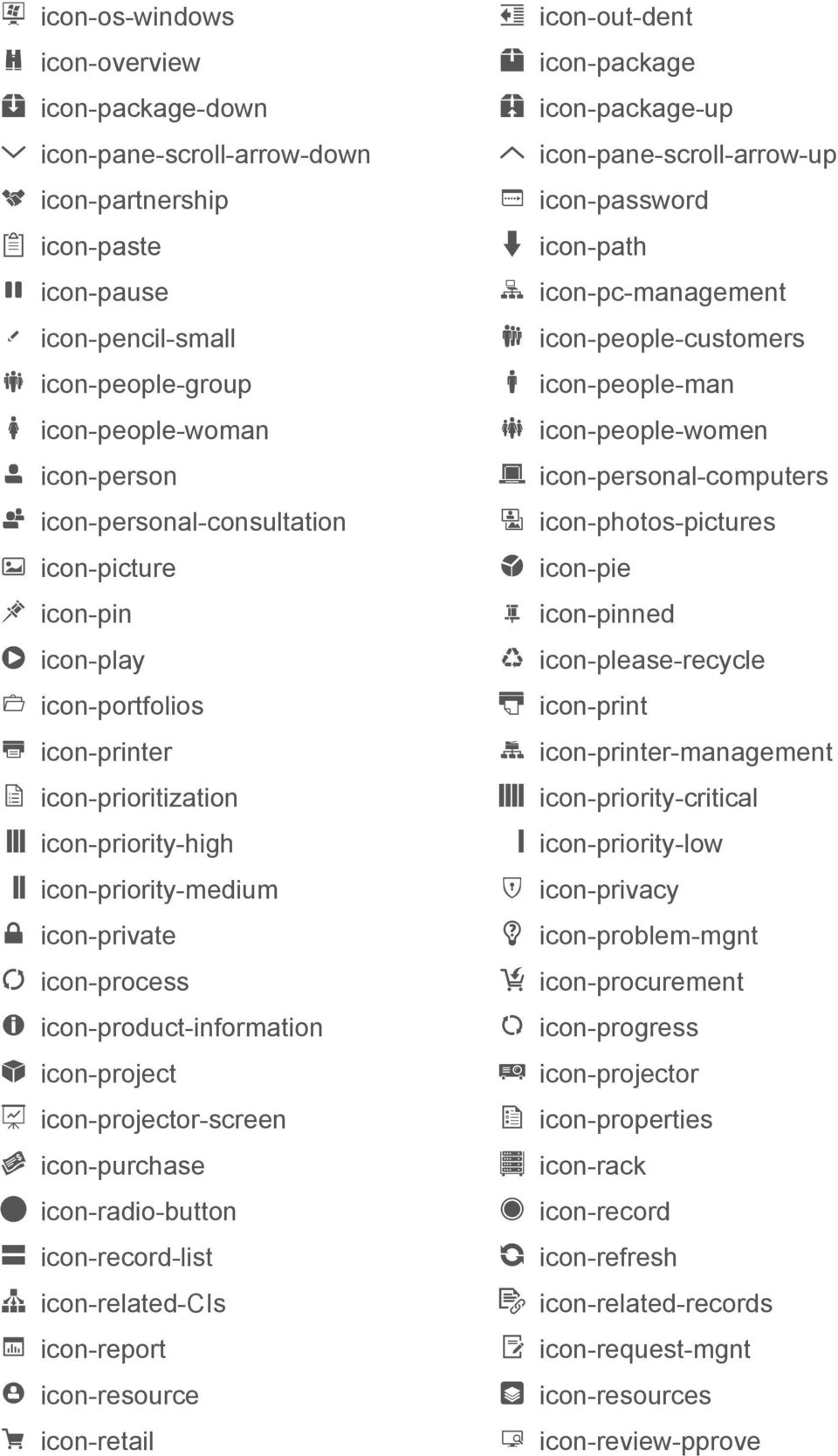icon-project icon-projector-screen icon-purchase icon-radio-button icon-record-list icon-related-cis icon-report icon-resource icon-retail icon-out-dent icon-package icon-package-up