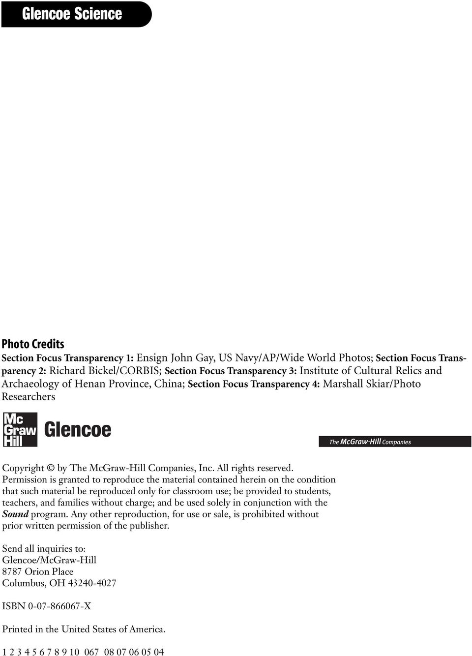 worksheet Mcgraw Hill Worksheets Science sound lab worksheets for each student edition activity laboratory permission is granted to reproduce the material contained herein on condition that such be