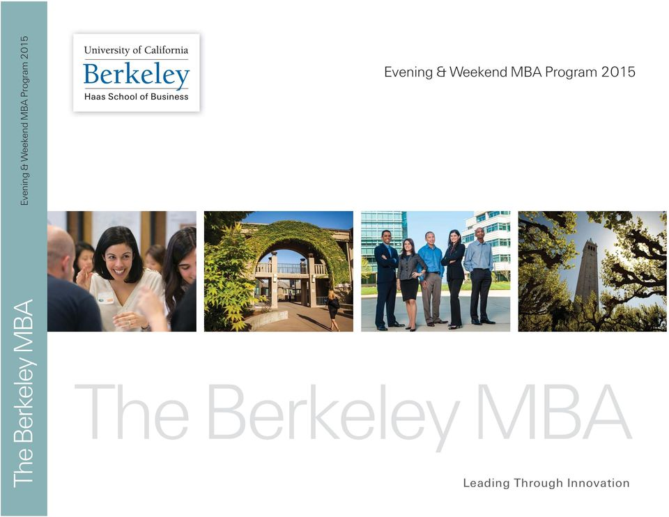 Through Innovation The Berkeley