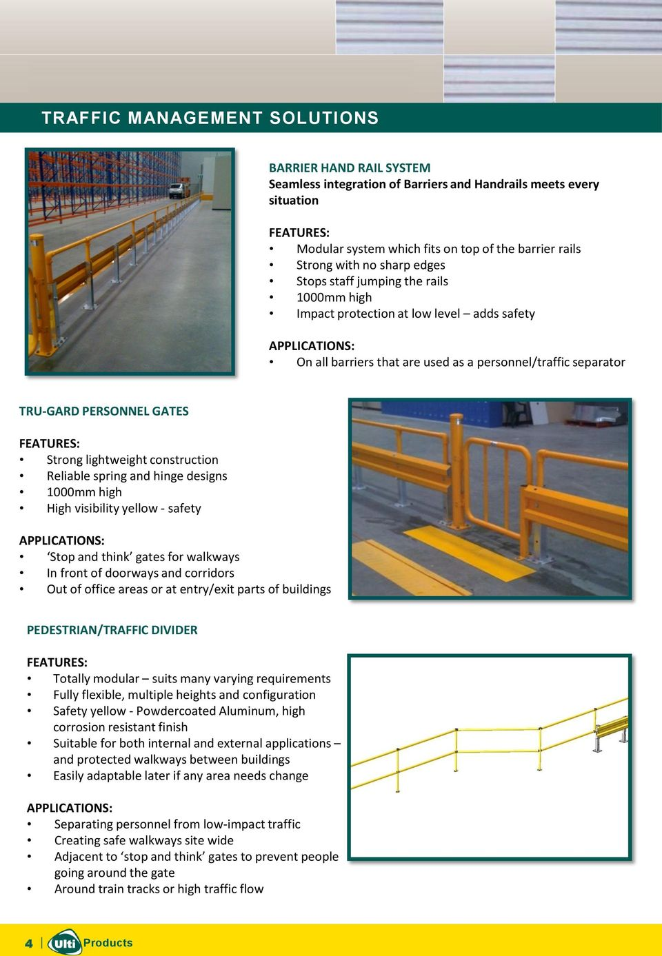 and hinge designs 1000mm high High visibility yellow - safety Stop and think gates for walkways In front of doorways and corridors Out of office areas or at entry/exit parts of buildings