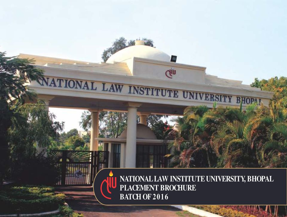National law institute university bhopal placement for Extra mural studies mumbai university