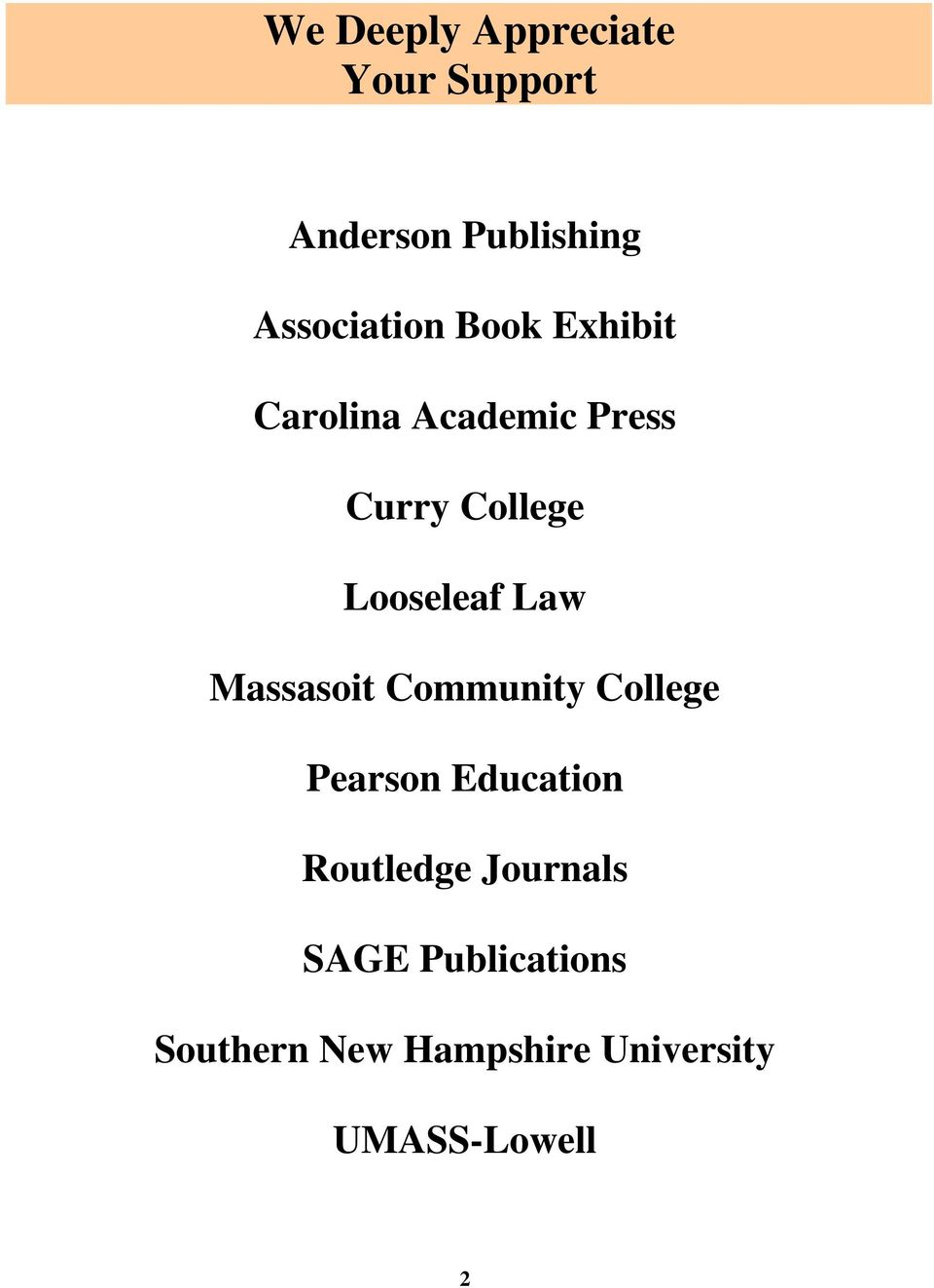 Massasoit Community College Pearson Education Routledge Journals