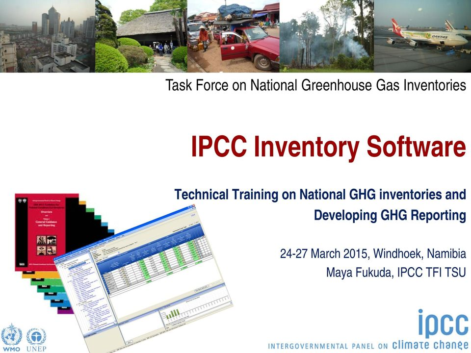 National GHG inventories and Developing GHG