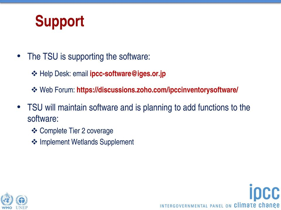 com/ipccinventorysoftware/ TSU will maintain software and is planning