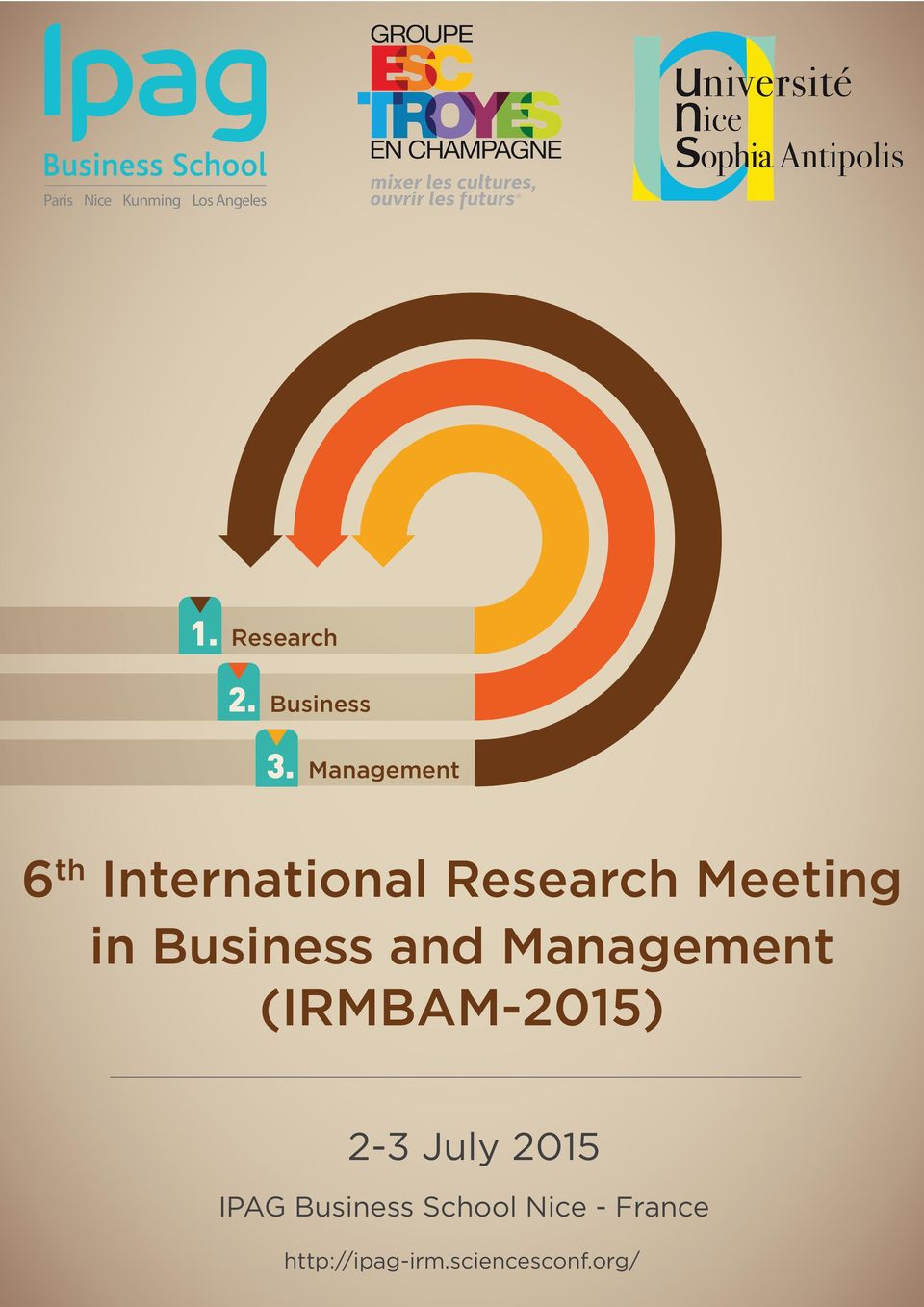 Business and Management (IRMBAM-2015) 2-3 July 2015