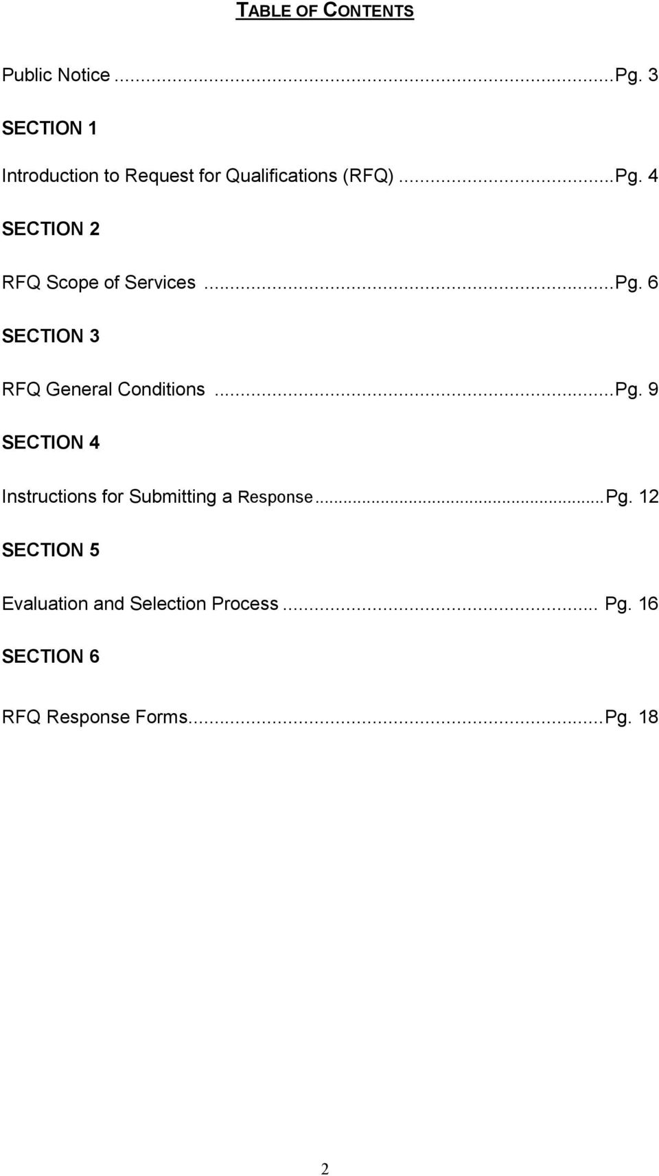 4 SECTION 2 RFQ Scope of Services...Pg.