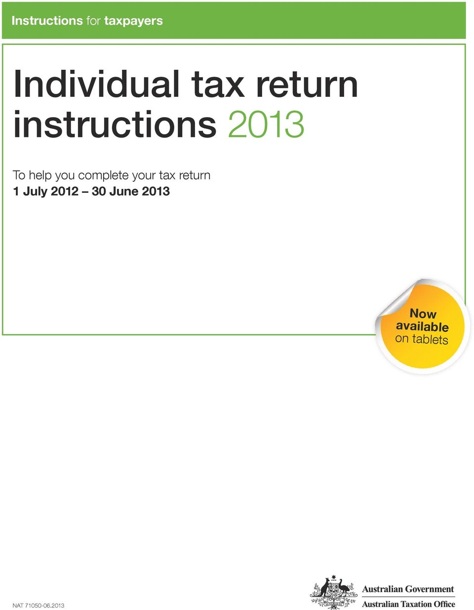 complete your tax return July 0 30 June