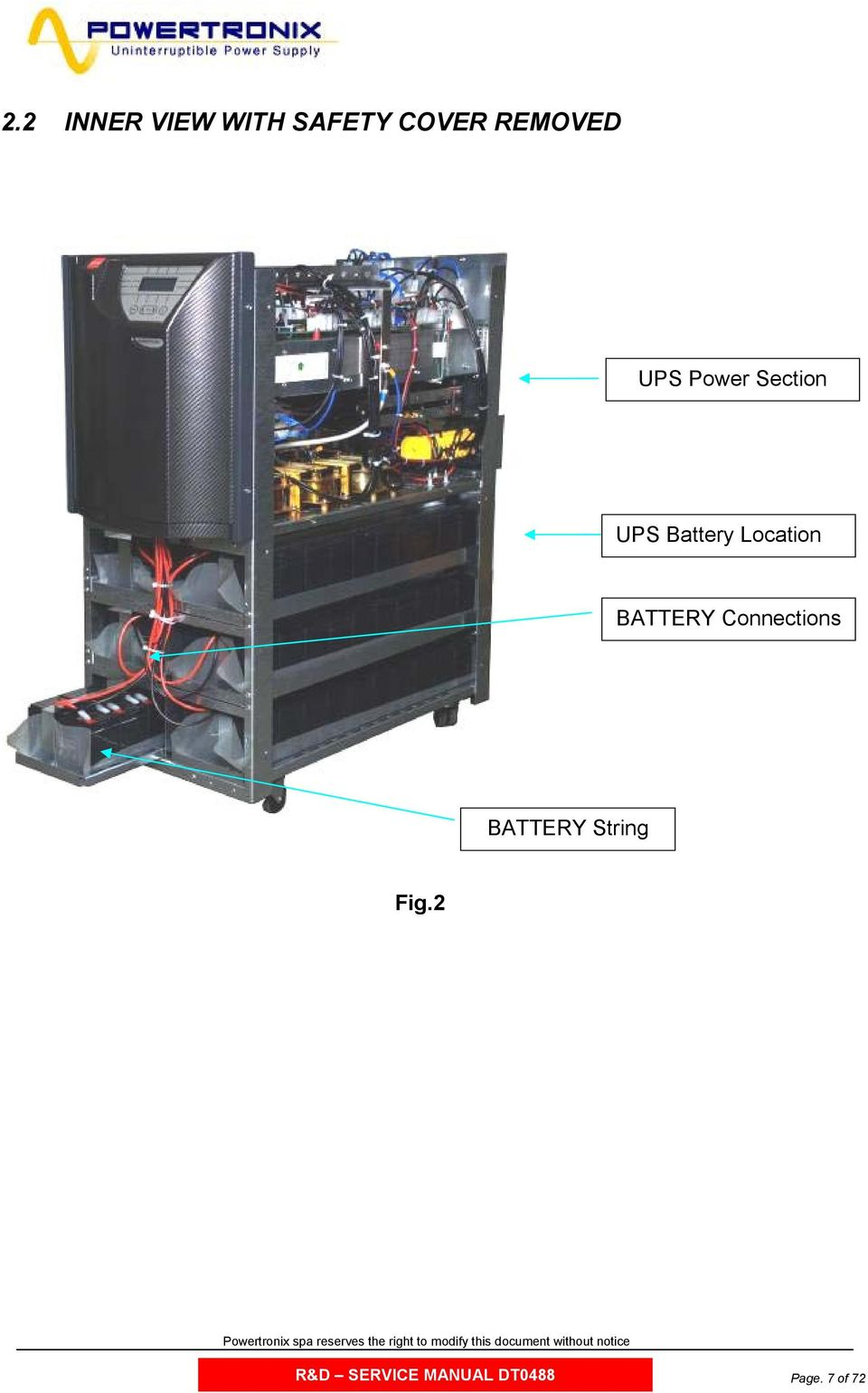 Location BATTERY Connections BATTERY
