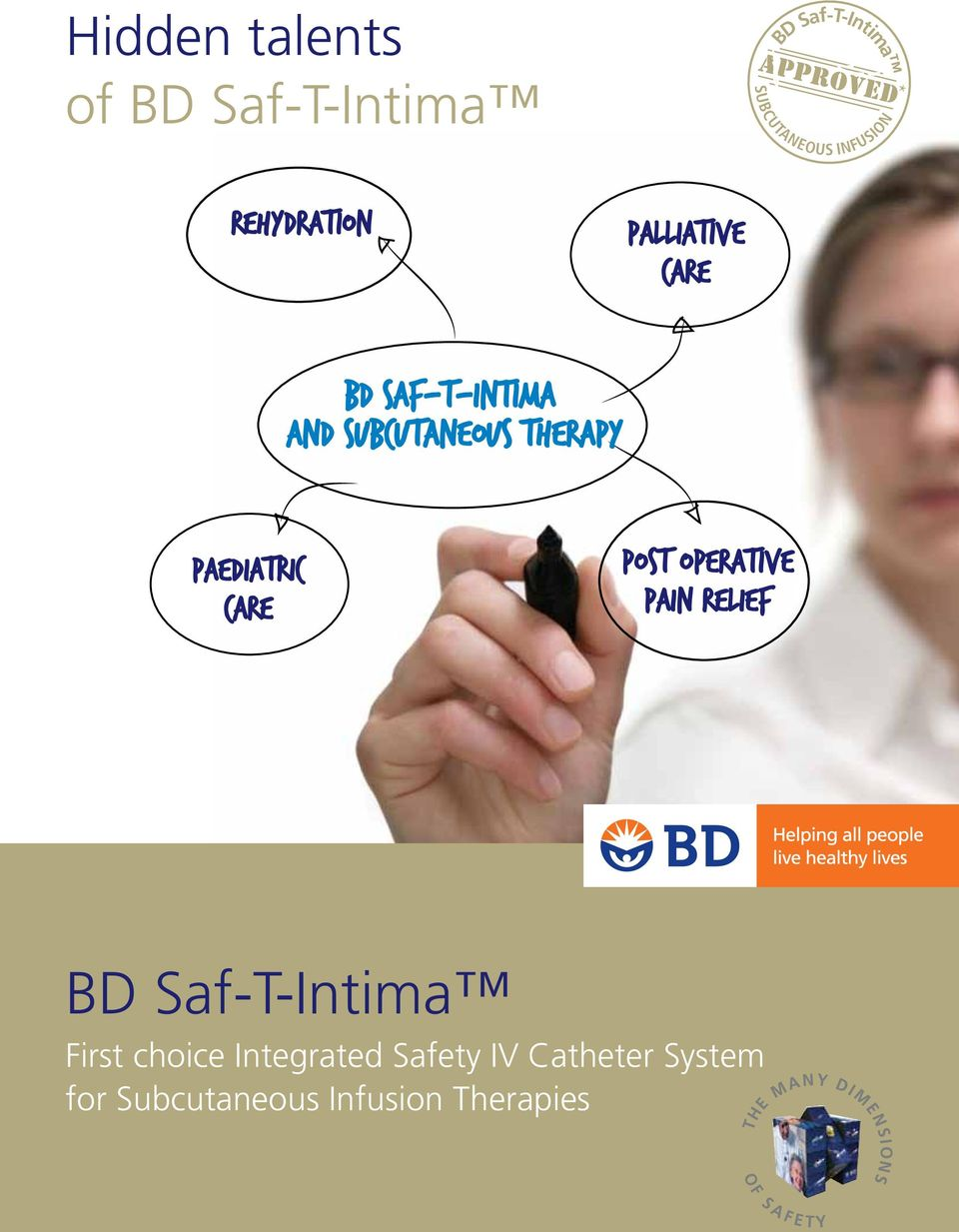 PAEDIATRIC CARE POST OPERATIVe PAIN RELIEF BD Saf-T-Intima First choice