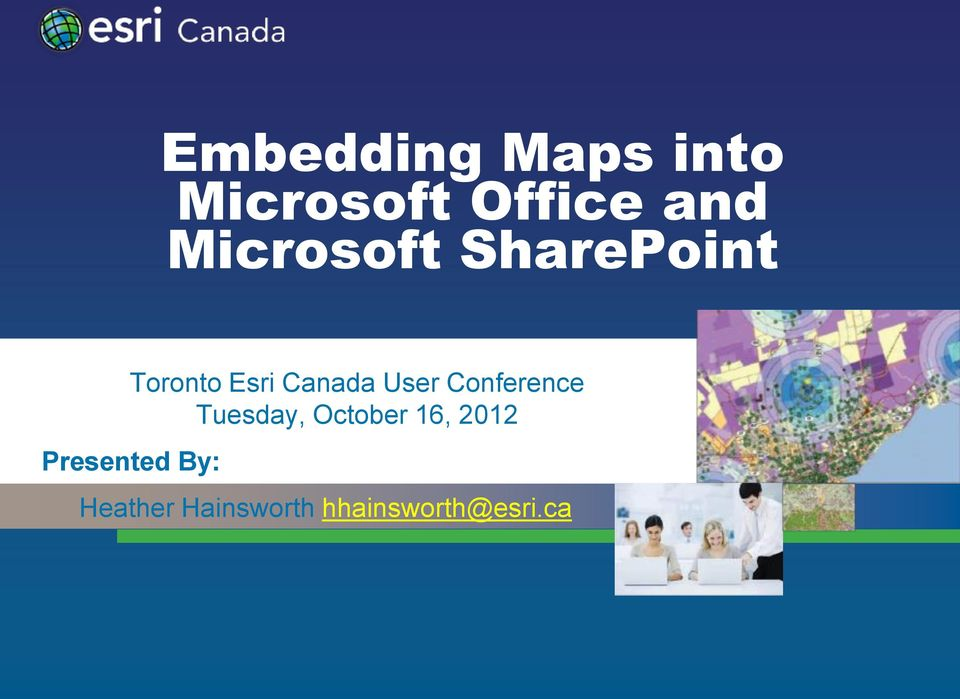 User Conference Tuesday, October 16, 2012