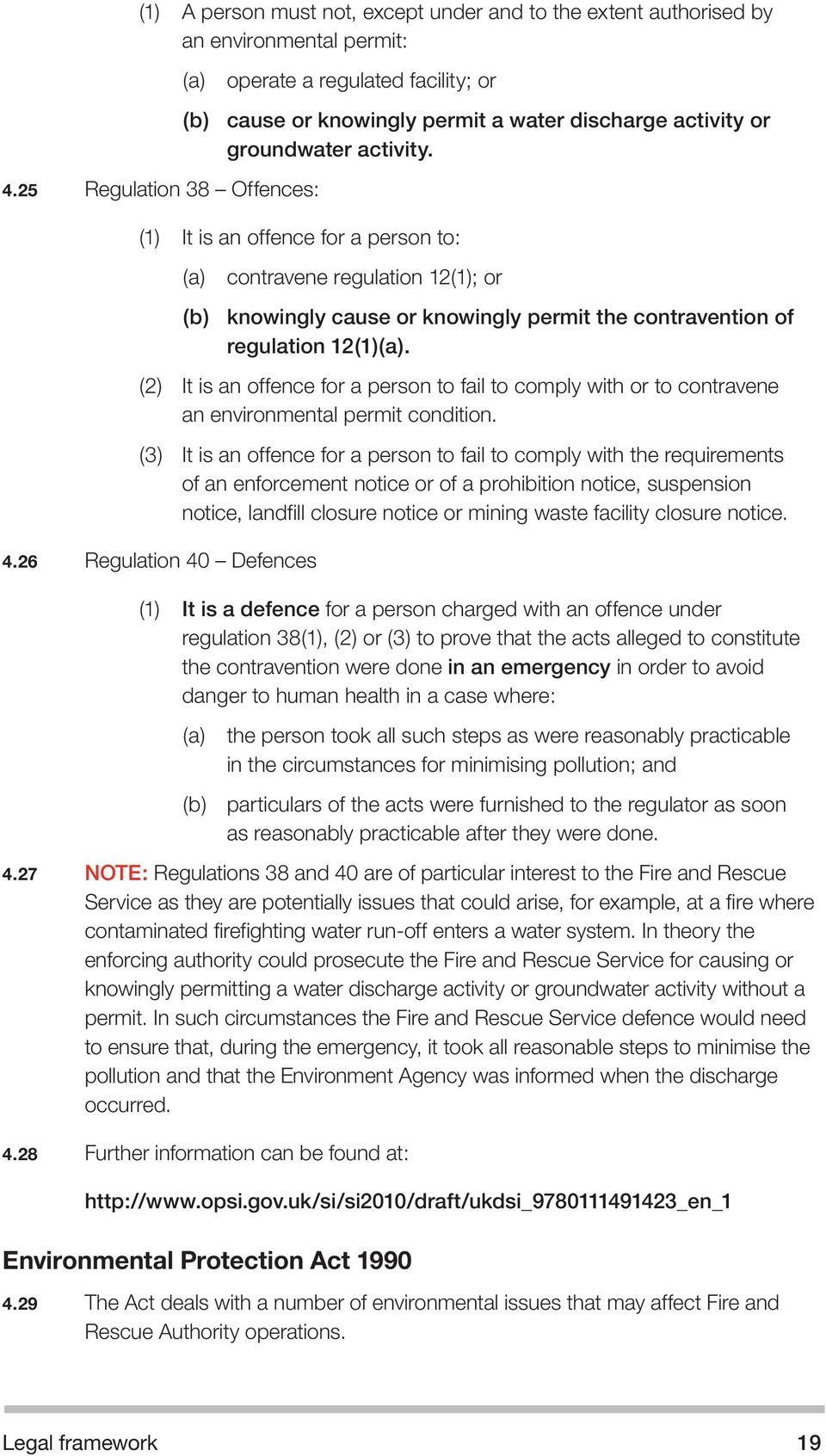 (1) It is an offence for a person to: (a) contravene regulation 12(1); or (b) knowingly cause or knowingly permit the contravention of regulation 12(1)(a).