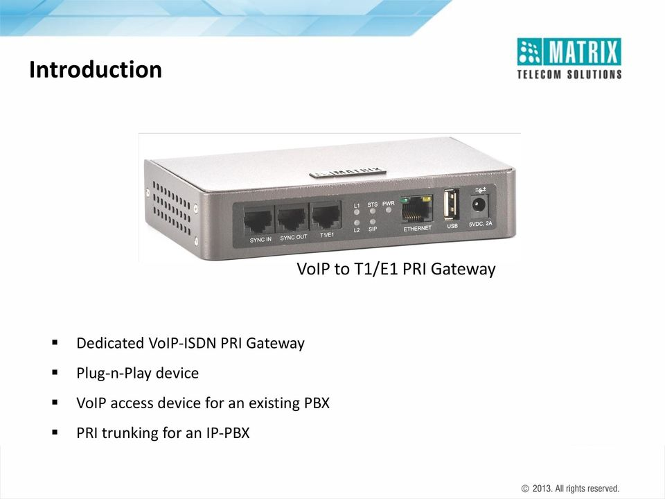 Plug-n-Play device VoIP access device