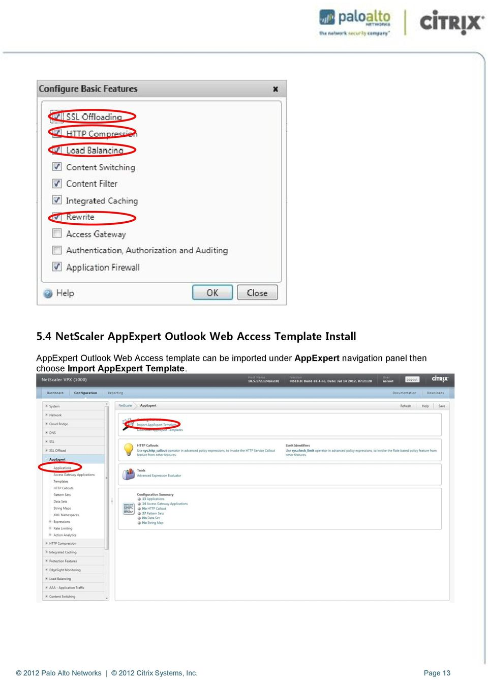 AppExpert navigation panel then choose Import AppExpert