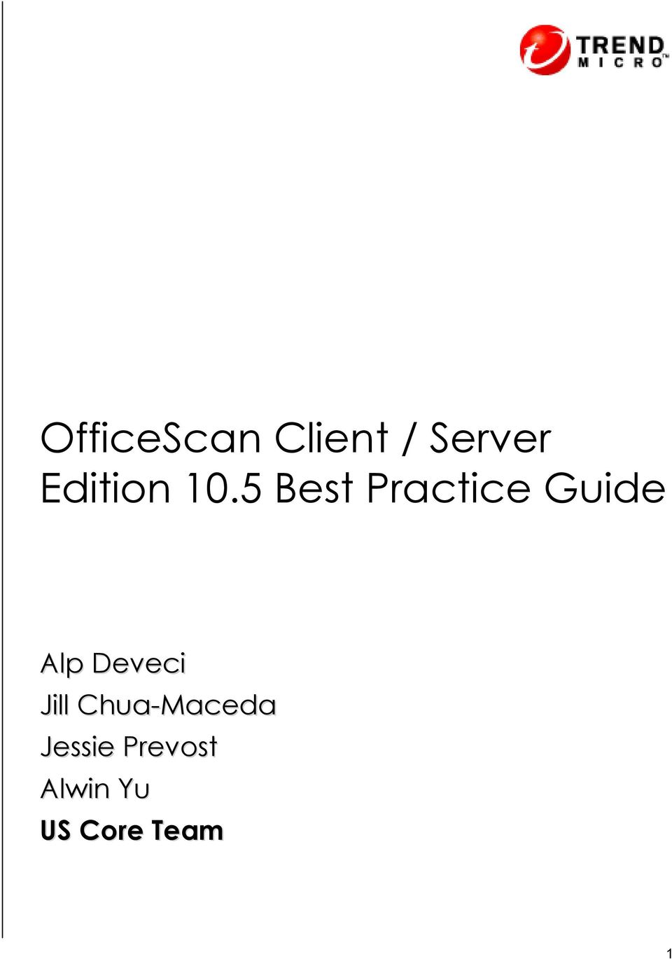 5 Best Practice Guide Alp