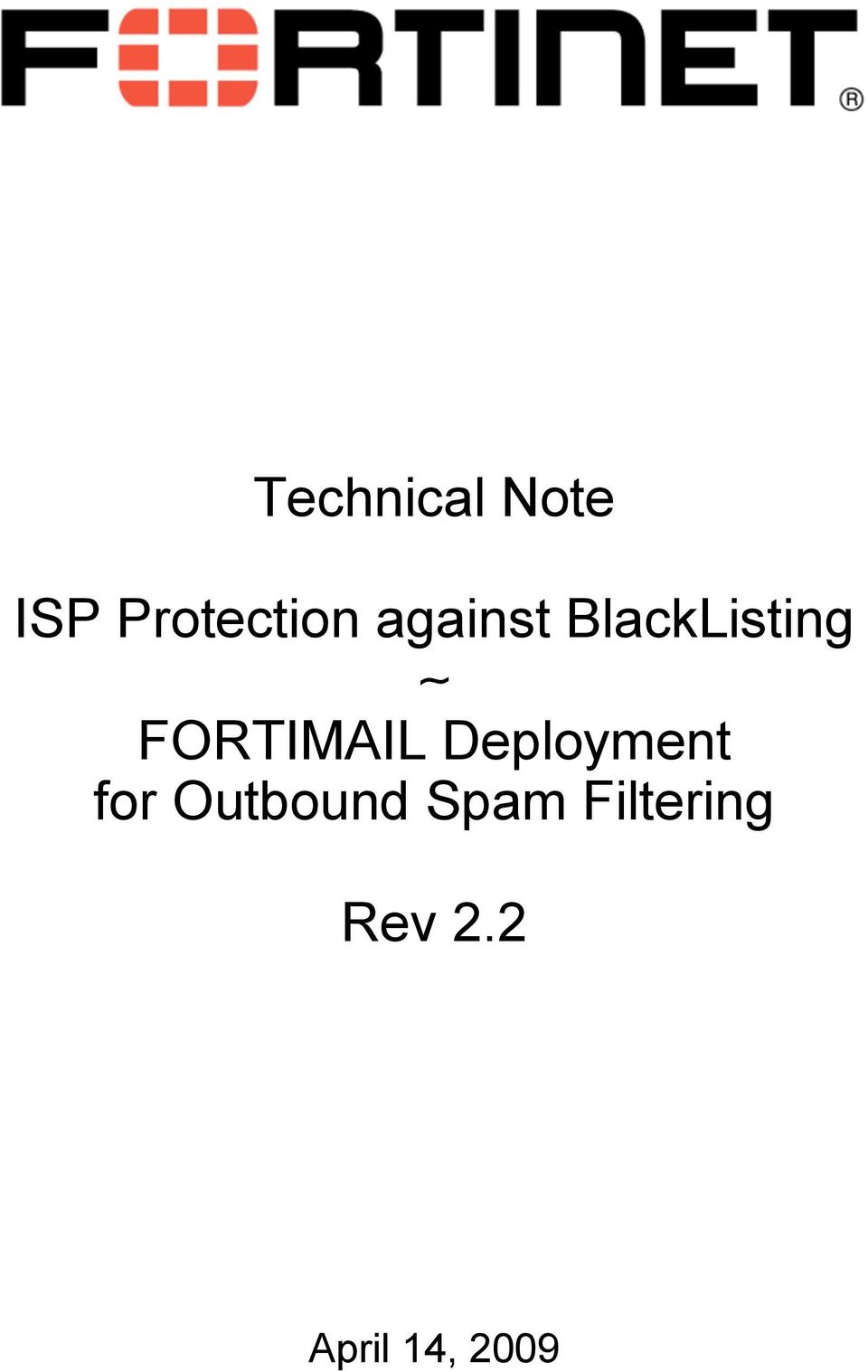 Deployment for Outbound Spam